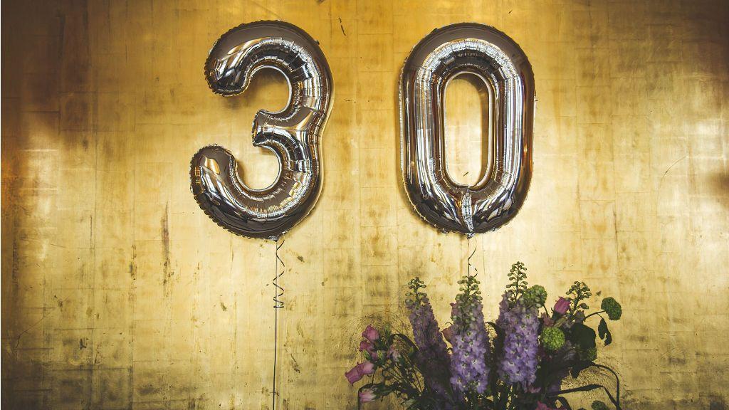 Jaki wybrać prezent na 30. urodziny?