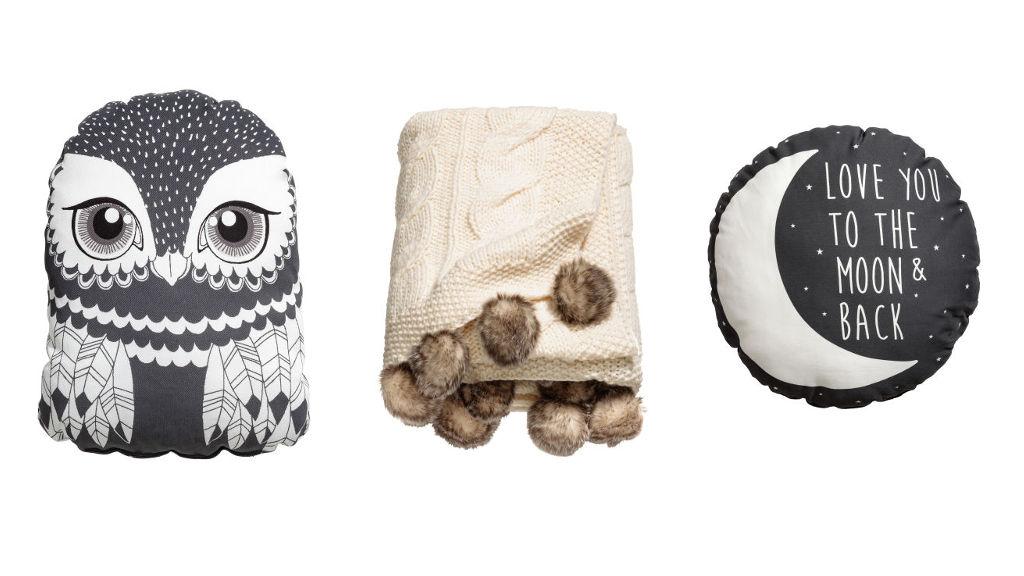 Poduszki, pledy i koce