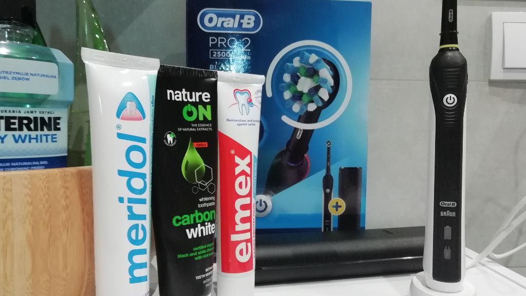 Oral-B Pro 2500 – recenzja szczoteczki rotacyjnej
