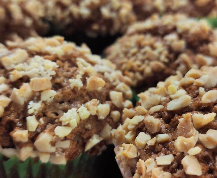 Muffinki migdałowe – muffinki na Święta Bożego Narodzenia